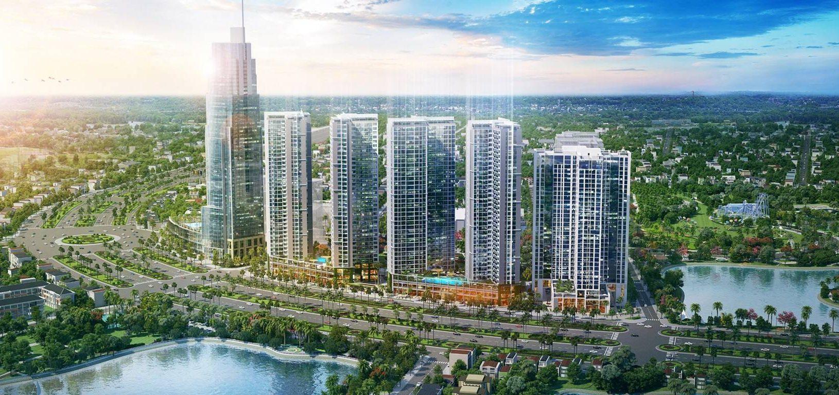 Phối cảnh thiết kế tổng thể căn hộ eco green sài gòn quận 7