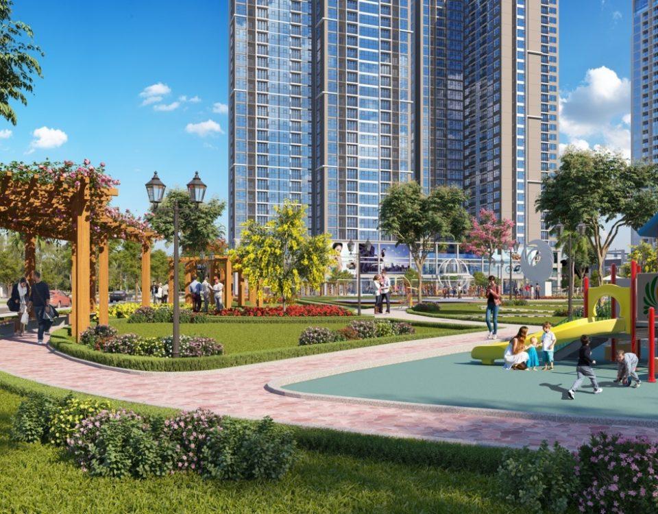 Công viên trung tâm eco green 2,4ha