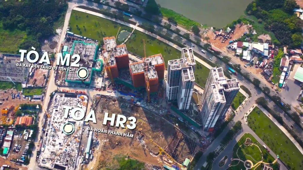 Tiến độ chung cư eco green Sài Gòn tháng 11 2019