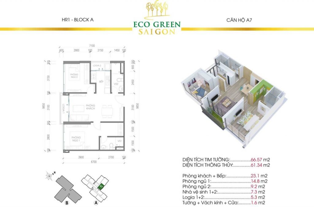 can a7 hr1 eco green sai gon
