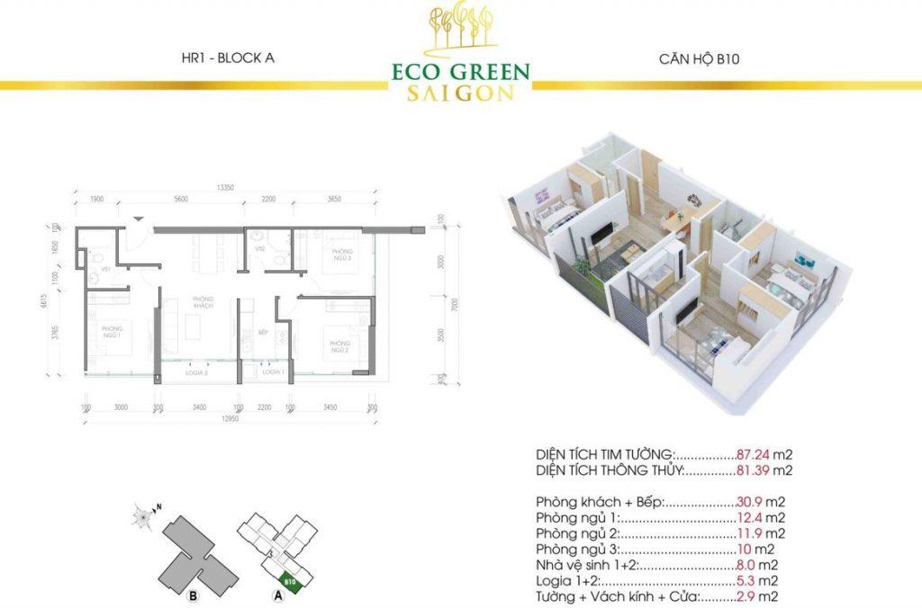 can b10 hr1 eco green sai gon