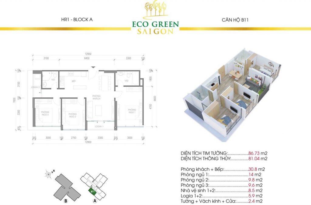 can b11 hr1 eco green sai gon