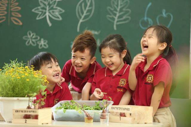 Môi trường học tập tại trường quốc tế được đánh giá rất cao.