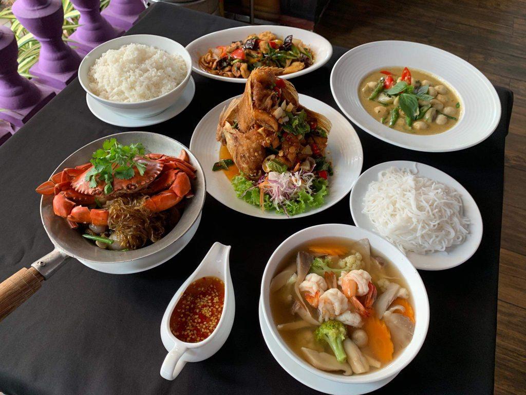 22 nha hang sang trong quan 7 Bangkok Kitchen