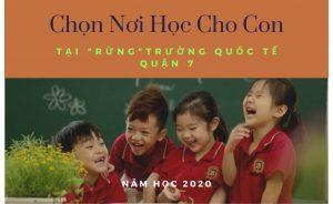 Danh sách trường quốc tế quận 7 năm 2020