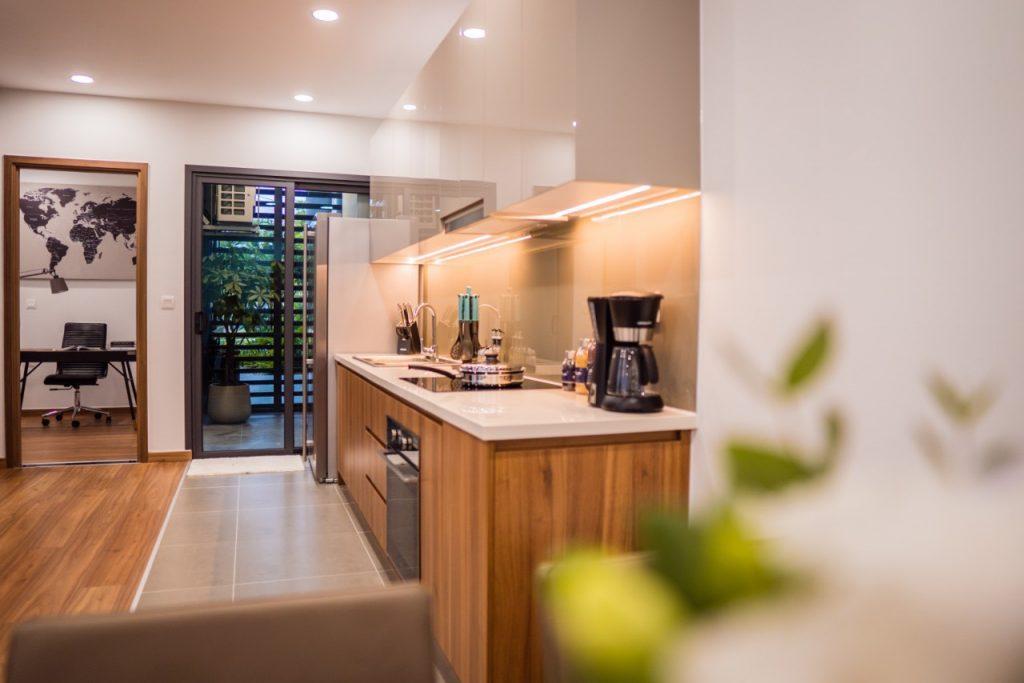 Nhà mẫu căn hộ 3 phòng ngủ eco green sài gòn 4