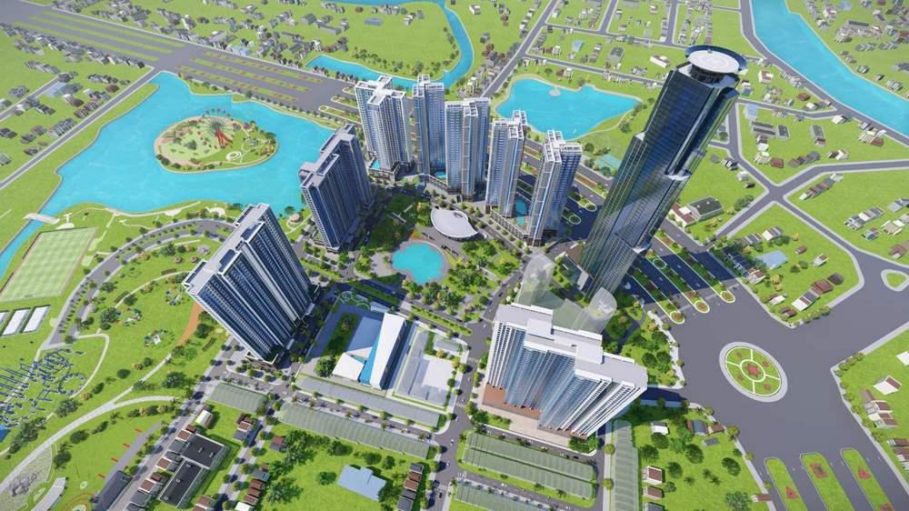 Phối cảnh kiến trúc dự án eco green sài gòn