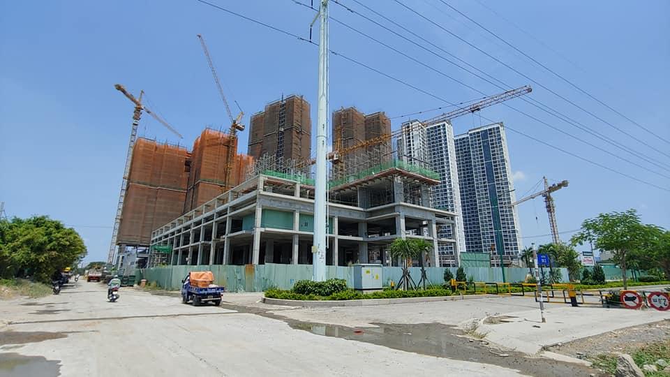 Tòa Hr3 đã xây dựng đến tầng 5