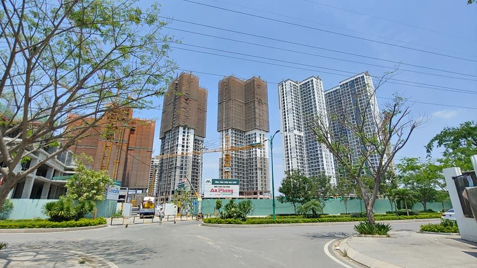 Tiến độ căn hộ Eco Green Sài Gòn Tháng 4/2020