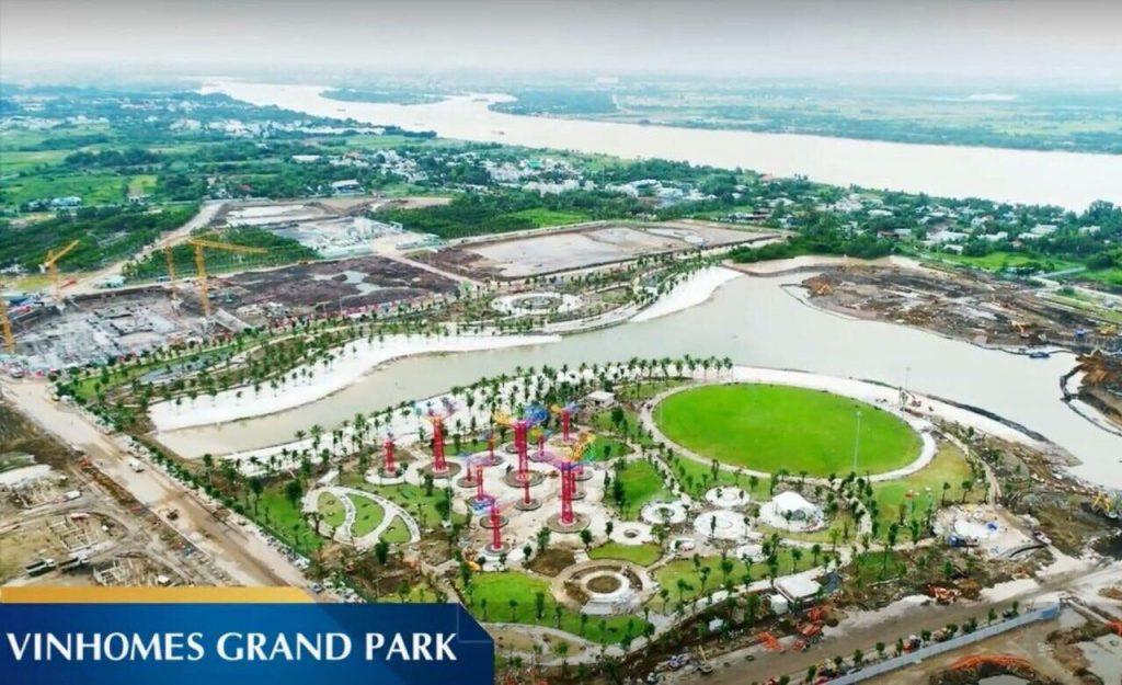 Đại công viên xanh vinhome grand park quận 9