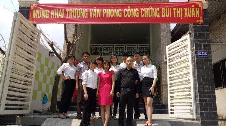 Văn phòng công chứng Bùi Thị Xuân quận 7